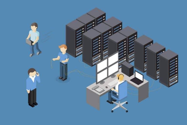 gerenciamento de servidor