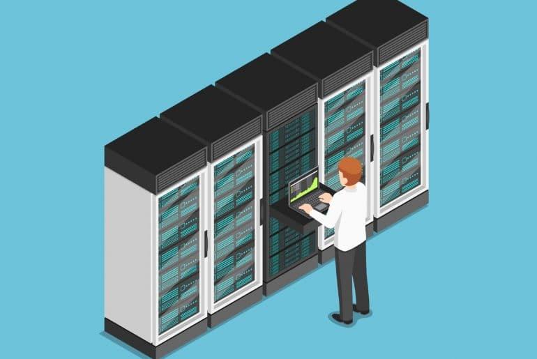 gerenciamento do servidor dedicado