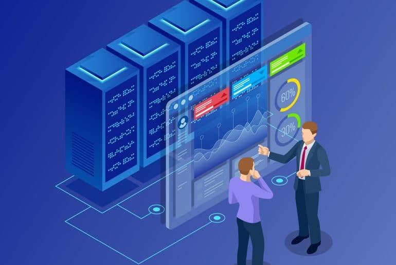 gestão de servidores