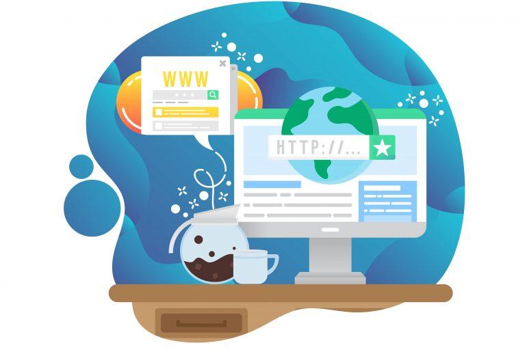 como funciona o registro de um domínio na internet