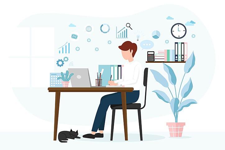 segurança de dados home office